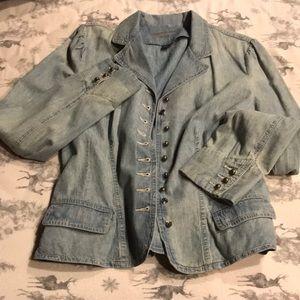 Button shirt denim